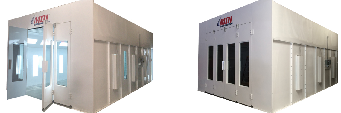 1000 Series Spray Booth